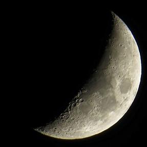 Another Moon Shot...Moon Over Hesperia