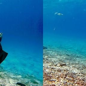 3D underwater with 2xSJ4000
