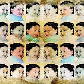 Faces Warhol style