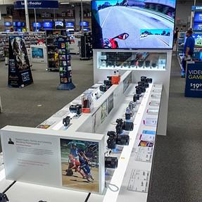Sony presence in Best Buy, Torrance, CA