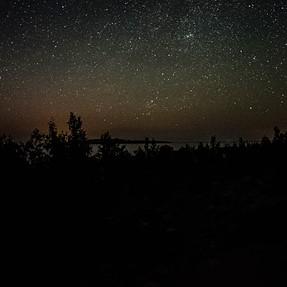 Coolpix A - Starshot over Georgian Bay, Ontario, Canada