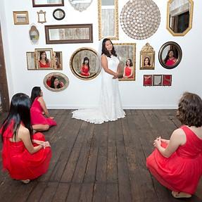 A99 / 24-70mm CZ - Mirror Mirror on the wall...Bride & Brides Maids