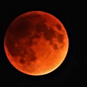 P610-Blood Moon Lunar Eclipse