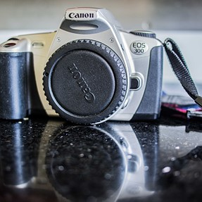 Just bought a Canon EOS 300