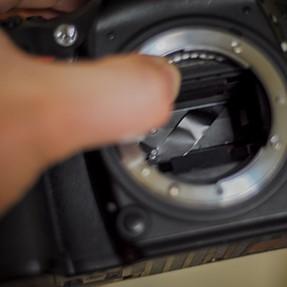 D610 broken shutter