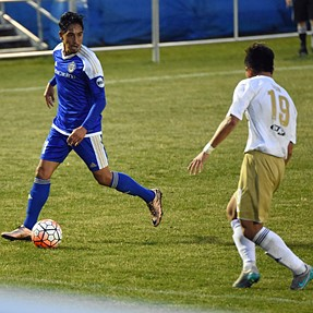 Pro soccer with Tamron 70-200 VC
