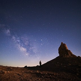 Milky Way - Trona Pinnicles (a99)