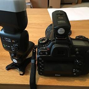D7200/SB500 radio flash trigger set up - Help