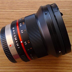 Rokinon 12mm f/2 lens for micro 4/3 Olympus and Panasonic cameras