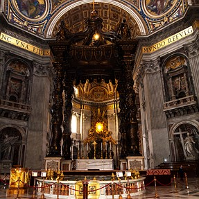 From St. Peter's Cathedral in Rome