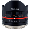 Rokinon 8mm f/2.8 UMC Aspherical Fisheye