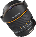 Samyang updates 8mm F3.5 fisheye with CPU for Nikon