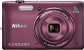 Nikon Coolpix S6800, S5300 and S3600 refresh compact lineup