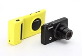 Putting Nokia's zoom claims to the test: Lumia 1020 smartphone versus Canon PowerShot S120