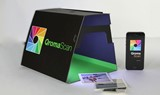 QromaScan uses your smartphone for digitizing prints