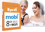 Eye-Fi Mobi SD card sends photos to mobile devices