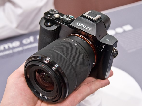 PPE 2013: Hands-on with Sony's A7 / A7R and RX-series cameras