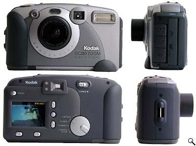 Kodak DC280: All round view (click for larger image)