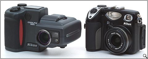 Nikon Coolpix 5000 and Nikon Coolpix 995