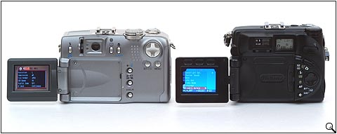 Nikon Coolpix 5000 and Canon PowerShot G2