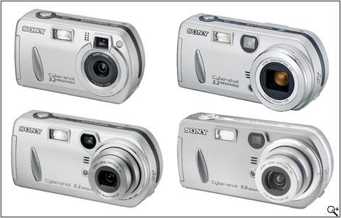 Sony DSC-P32, DSC-P52, DSC-P72 and DSC-P92