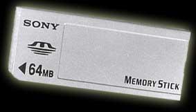 Sony 64MB MemoryStick