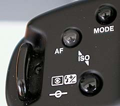 Top left mode controls (click for larger image)