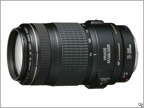 Canon EF 70 - 300 mm F4.0 - F5.6 IS USM